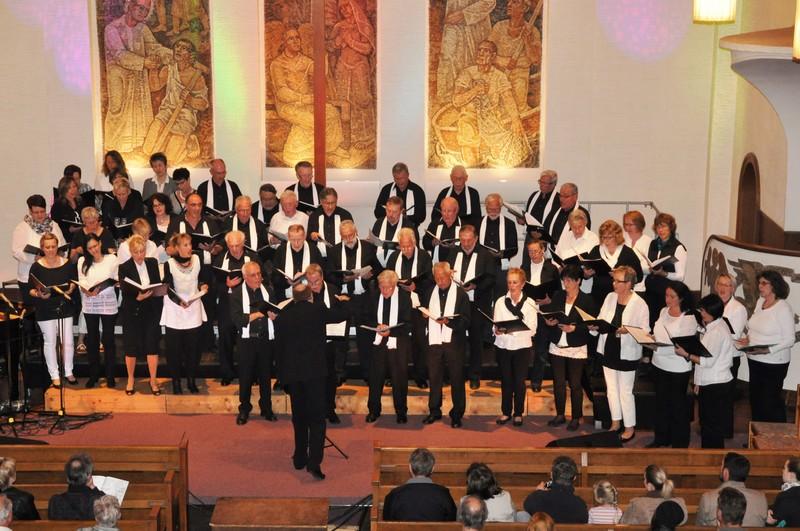 Chor Tonart Nollingen in der Christuskirche
