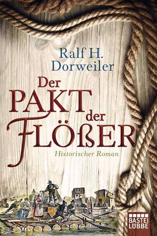 """Der Packt der Flößer"" erscheint am 16. Februar im Buchhandel."