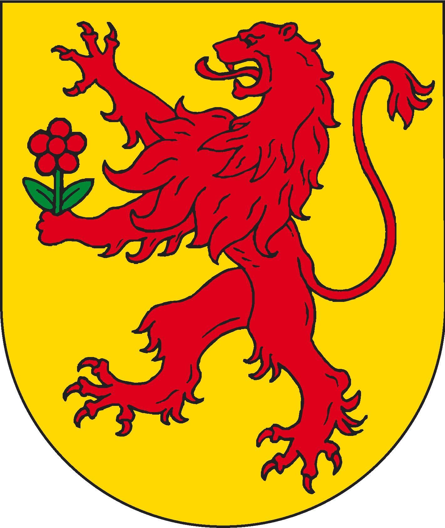 Crest of Nollingen, today the crest of Rheinfelden (Baden)