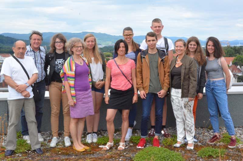 In diesem Jahr nutzen sechs Jugendliche aus Fécamp  das Angebot der VHS für einen Sommersprachkurs in Rheinfelden
