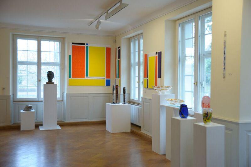 Rheinfelder Künstler stellen im Haus Salmegg aus.