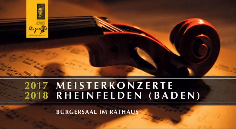 """Im Rahmen der Reihe """"Meisterkonzerte"""" werden auch in dieser Saison wieder vier klassische Konzerte im Bürgersaal zu hören sein."""