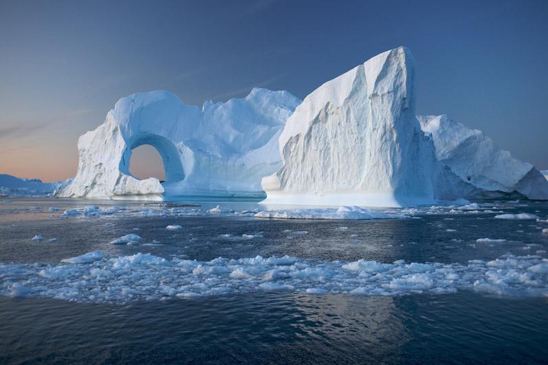 Grönland, Eisberg, Ilulissat Eisfjord
