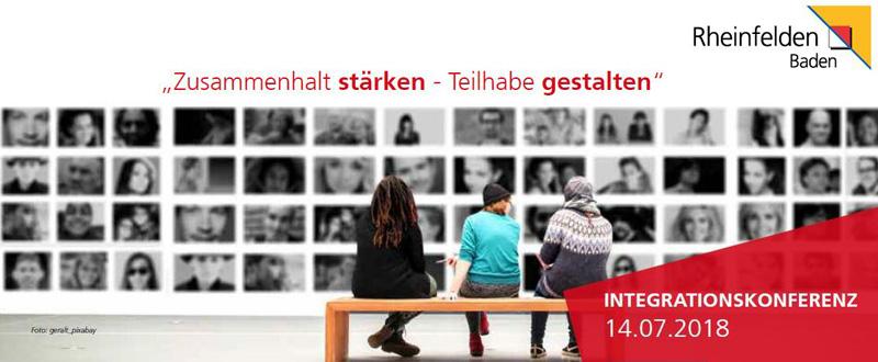 Herzliche Einladung zur Integrationskonferenz am Samstag, 14.07.2018 | Jugendhaus | Tutti-Kiesi Weg 1 | 09.00 – 13.30 Uhr