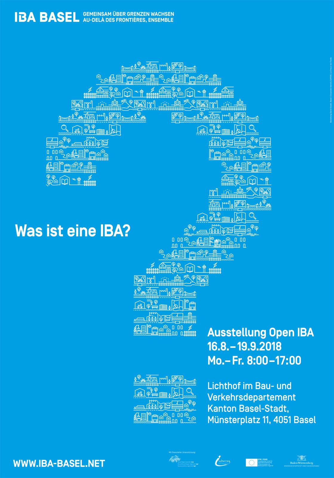 Ausstellungsplakat Open IBA