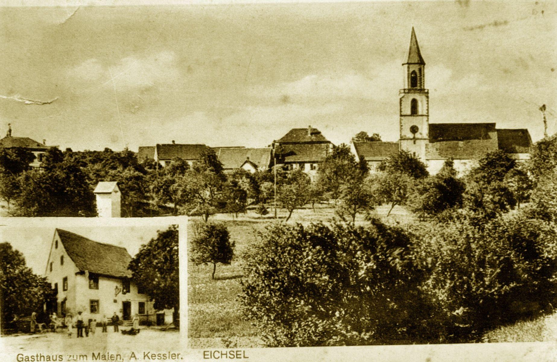 Postcard of Eichsel (1920)