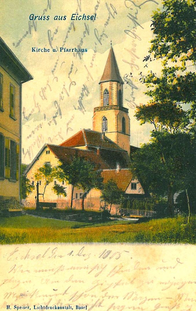 Historical Postcard of Eichsel (1905)