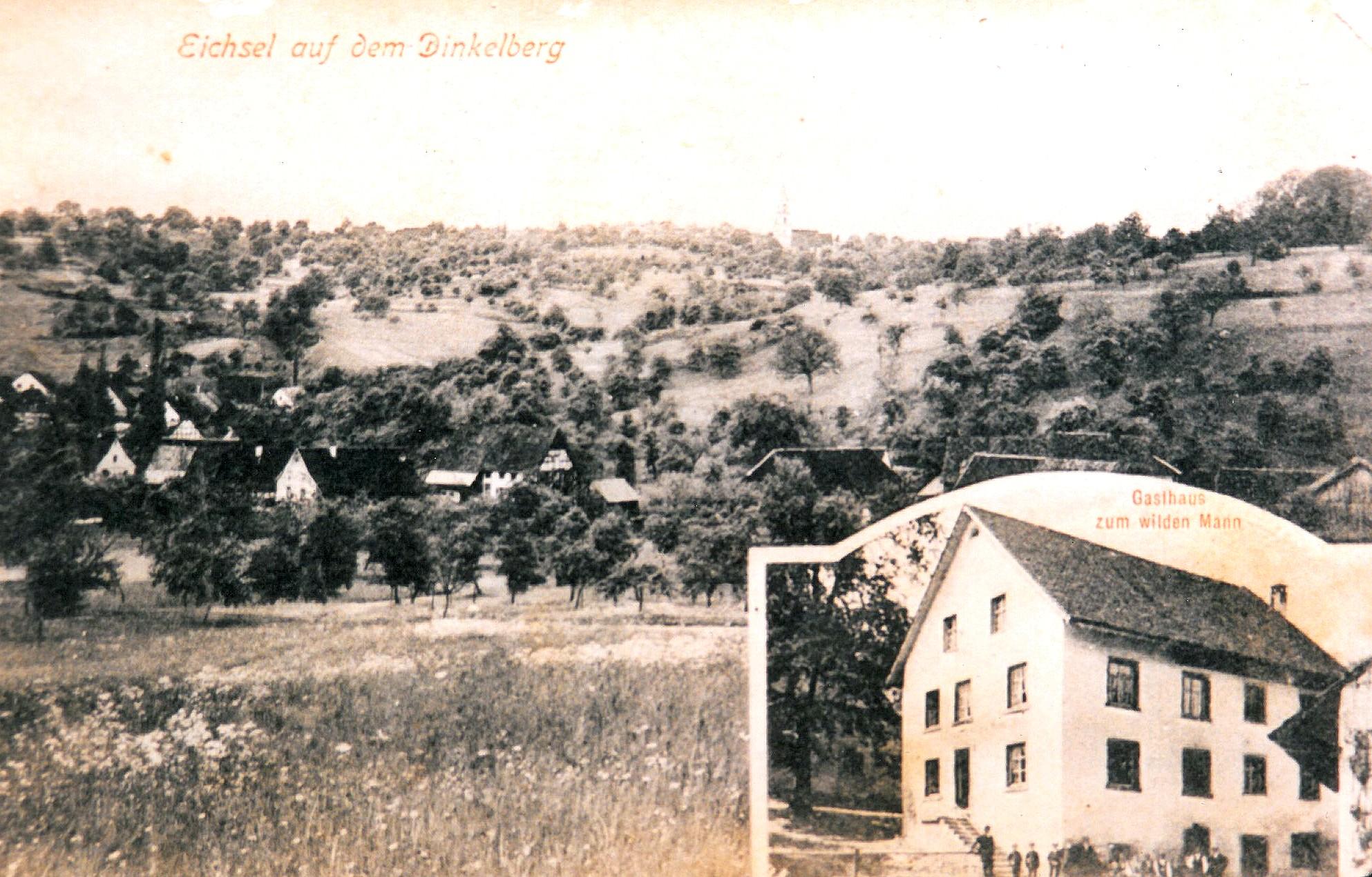 Ansicht Untereichsel um 1920