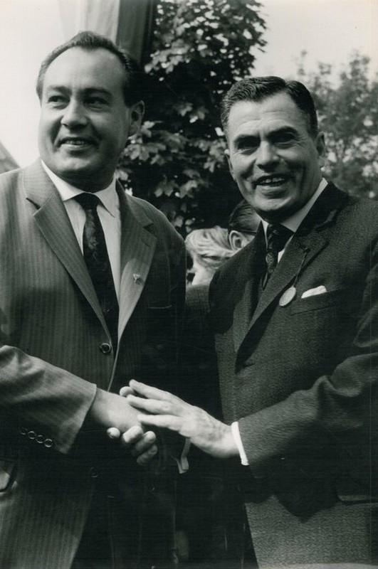 Herbert King und Maurice Sadorge (1963)
