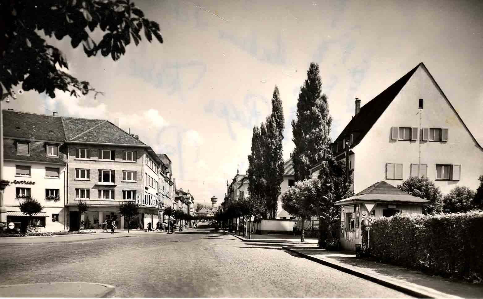 Kaufhaus-Blum-Friedrichsplatz (Aufnahme in den 50er Jahren)