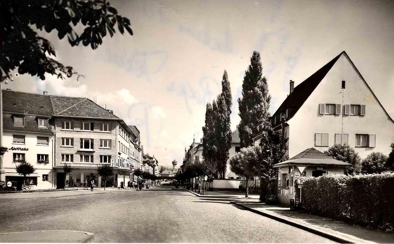 Friedrichsplatz (Fotografia dal 1950)