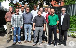 Mitarbeiter im Energie-Team der Stadt Rheinfelden (Baden)