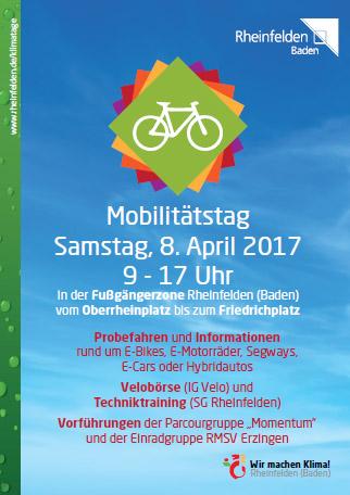 Mobilitätsmeile Rheinfelden am 8. April 2017