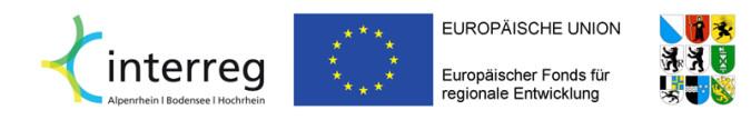 """Das Projekt """"Rheinuferrundweg"""" wird zu 70 Prozent von der Interreg gefördert."""