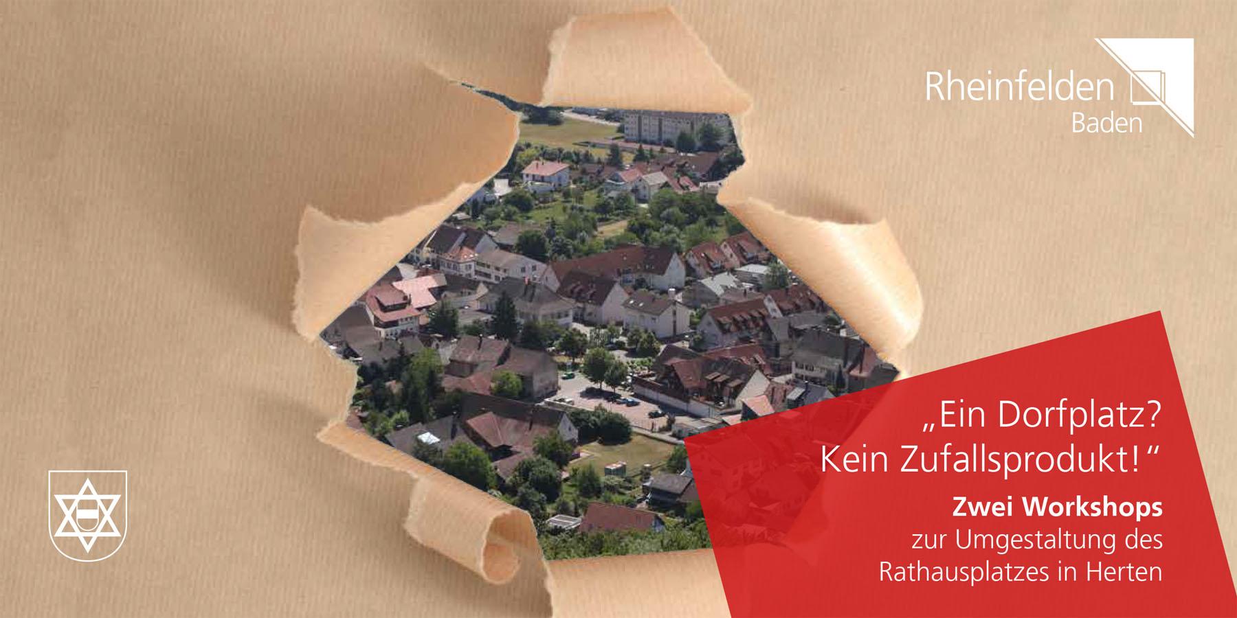 Deckblatt zum Flyer des Workshops Bürgerbeteiligung Herten