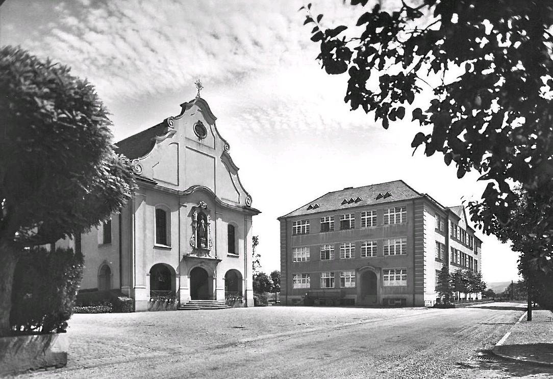 St. Josefskirche, Herten um 1950
