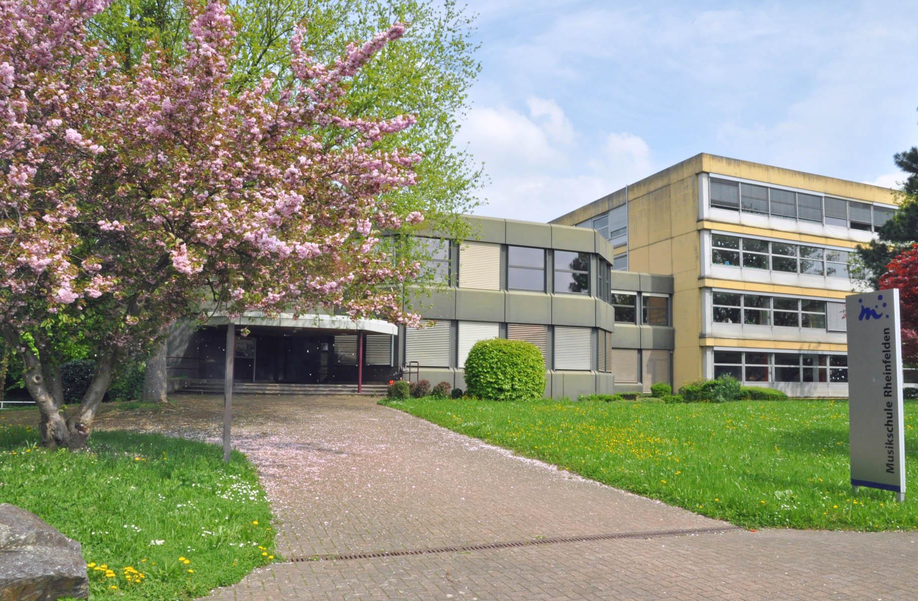 Das Musikschulgebäude.