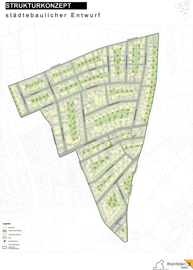 Strukturkonzept Masterplan Siedlung