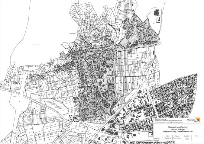 Stellplatzsatzung Nollingen - Plan