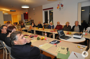 Der Sozialausschuss tagte in der Tagespflegeeinrichtung der Caritas.