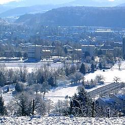 Winter in Rheinfelden (Baden)