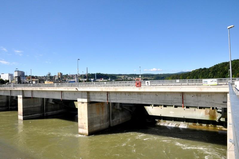Das neue Wasserkraftwerk