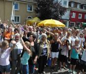 Jubel in Rheinfelden (Baden)
