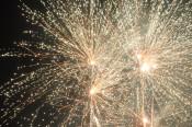 Ein kleines Feuerwerk setzte den Schlusspunkt unter einen gelungenen Abend - ein Abend für das Ehrenamt.