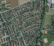 Masterplan zur Siedlung