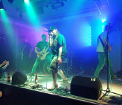 """""""The Last Breath"""" rockten am Samstag das Jugendhaus."""
