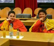 Zwei Könige auf der Ratsbank