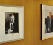 Die neue Fotogalerie im Rathausfoyer