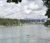 Perspektive Neuer Rheinsteg von SW ©Render-Manufaktur