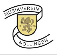 Logo des Musikvereins Nollingen