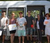 Erstmalig ist der Spielbus Bestandteil des Ferienprogramms.