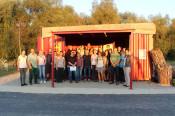 """24 Studenten aus Nürtingen-Geislingen informierten sich über das Projekt """"urban gardening"""" in der Karl-Metzgergrube."""