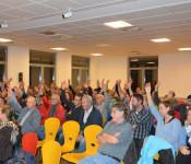 Einstimmig wurde der Vorschlag zur Bildung eines Warmbacher Ausschusses von den Anwesenden befürwortet.