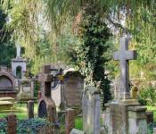 Grabsteine müssen regelmäßig auf ihre Standortsicherheit überprüft werden.