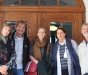 Stefanie Franosz (Stadt Rheinfelden), Günther Schmidt (SAK) begrüßtem Louise Detering und das Ehepaar Kranzufelder aus der engagierten Stadt Titisee-Neustadt.