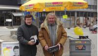 Gemeinderat Max Hirtle mit Benno Mülhaupt