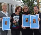 Gemeinsam wollen Karin Brüggemann, Rebekka Steimle (beide von der Suchtberatung), Gaby Dolabdjian (VHS) und Bürgermeisterin Diana Stöcker das Thema Sucht in die Öffentlichkeit tragen.