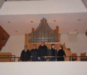 Wie gemacht scheint der Platz für die Orgel zu sein.