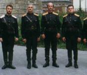 Auftritt des Kosakenchors im Bürgerheim.