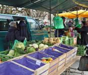Der Wochenmarkt wird am Samstag auf den Oberrheinplatz verlegt.
