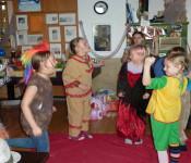 Ausgelassen und fröhlich feierten die Kinder Fasnacht im Jugendtreff.