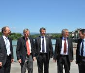 Tilman Bollacher, Eberhard Niethammer, Franco Mazzi, Julian Würtenberger und Peter Maurer