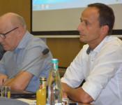 Bernward Braun (rechts) wird der Nachfolger von Dr. Norbert Dietrich, der seit 30 Jahren die Musikschule leitet.