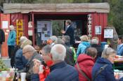 Auch in diesem Jahr ist der rote Container in der Metzgergrupe Dreh- und Angelpunkt des Kürbissuppenfestes, am Samstag, 7. Oktober, von 11 bis 15 Uhr.