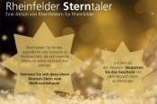 """In diesem Jahr plant das Lokale Bündnis für Familie mit Unterstützung der Bürgerstiftung in Rheinfelden eine ganz besondere Weihnachtsaktion, den """"Rheinfelder Sterntaler""""."""