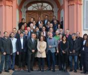 Der Workshop der Jahrestagung des Deutschen Nationalkomitess für Denkmalschutz fand in diesem Jahr auf Schloss Beuggen statt.